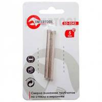 Intertool SD-0343 Коронка трубчатая по стеклу и керамике 5 мм (цена за 1уп/2шт)