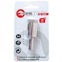 Intertool SD-0352 Коронка трубчатая по стеклу и керамике 18 мм