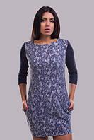 Женское платье на шерсти 881528