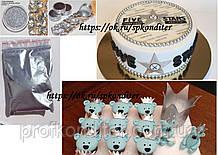 Сухой краситель античное серебро 5 грамм