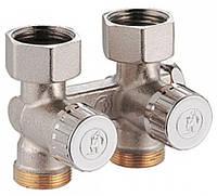 """Проходной клапан Giacomini (3/4""""FX3/4""""E) R383X002 для одно-двух трубных систем"""
