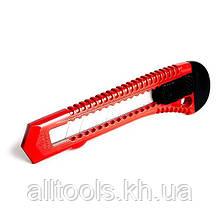 Нож прорезной с отломным лезвием INTERTOOL HT-0500