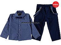 Нарядный комплект с подтяжками для мальчика 6, лет к.98658