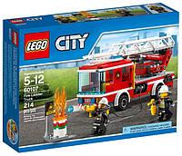 Lego City Пожарный автомобиль с лестницей 60107, фото 1