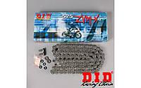 Мото цепь  525 DID 525ZVM-X 120 стальная для мотоцикла ( в к-те замок ZJ) сальник X 2 -Ring