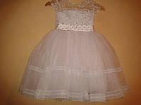 Нарядное пышное платье 1-7 лет