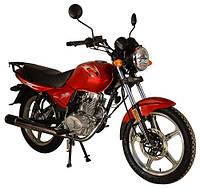 Мотоцикл Qingqi Burn 150 Красный, фото 1