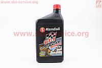 Масло для 2-х тактактных двигателей полусинтетическое  1 л фирмы KENDALL