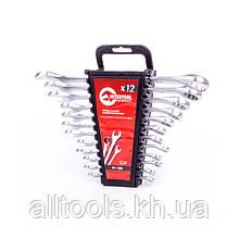 Набор рожковых и накидных гаечных ключей Cr-V INTERTOOL HT-1203