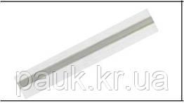 Трубка для стойки алюминиевая 0,5 м.п. для ценникодержателя формата А4