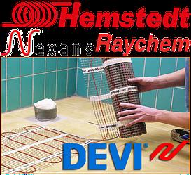 Монтаж теплых полов Devi, Nexans, Hemstedt