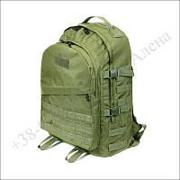 Тактический рюкзак 40 литров олива для военных, рыбалки, туризма кордура