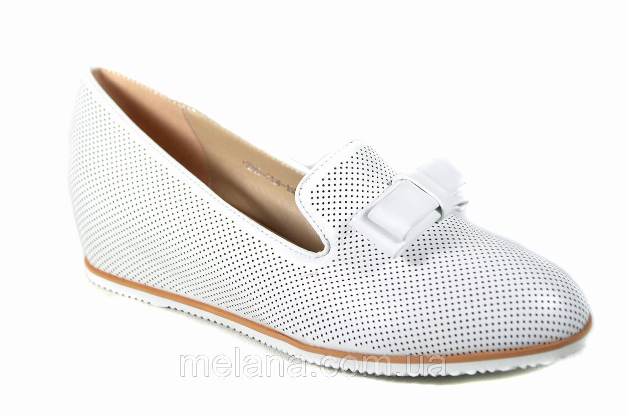 d4d883a1f Белые туфли женские на платформе танкетке Mea Balan: продажа, цена в ...