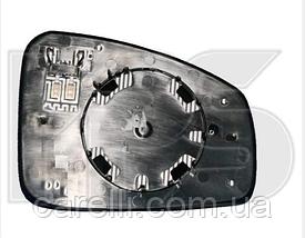 Вкладыш зеркала левый с обогревом асферич Megane 2009-13