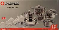 Набор посуды 12пр. De Swiss Bergner De1215
