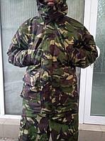 Зимний камуфляжный костюм Дпм, Dpm Синтепон, флис