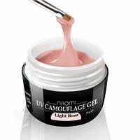 Гель Naomi камуфляжный UV Camouflage Light Rose светло-розовый, 14 г