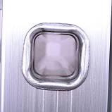 Лестница алюминиевая мультифункциональная трансформер INTERTOOL LT-0029, фото 3