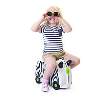 Детский чемоданчик на колесах TRUNKI ZEBRA ZIMBA