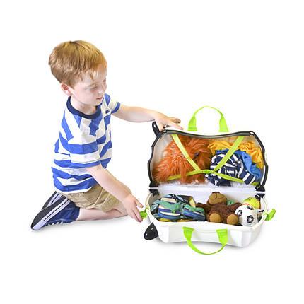 Детский чемоданчик на колесах TRUNKI ZEBRA ZIMBA, фото 2