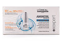 L'Oreal Professionnel Aminexil Advanced Aminexil + Omega-6 Средство против выпадения волос 10*6 мл