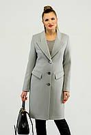 Классическое приталенное пальто