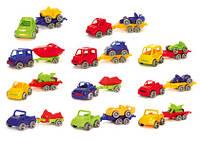 Wader Kid Cars Sport авто з причіпом