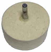 Фетровый круг для дрели 60 мм.