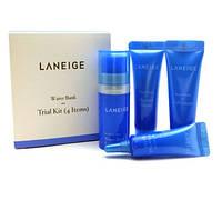 Набор косметики увлажняющий LANEIGE Water Bank Trial Kit 10+10+10+3мл