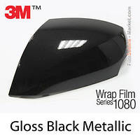 Глянцевый черный металлик 3M 1080 Gloss Black Metallic, фото 1
