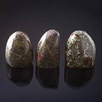 Камень натур. Сувенир, на вес Яшма зеленая