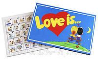 Шоколадный набор подарочный Love is Большой,подарок любимому