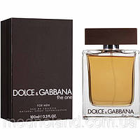 Мужская туалетная вода Dolce & Gabbana The One for Men 100 ml (Дольче Габанна Зе Ван Фо Мэн)