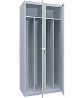 Шкаф одежный металлический ШОМ-400/2 Исполнение 1