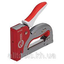 Механический скобозабивной пистолет под скобу (степлер) INTERTOOL RT-0103