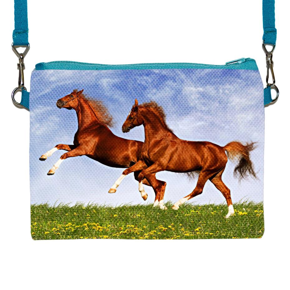 Детская сумочка для девочки с принтом Домашняя лошадь