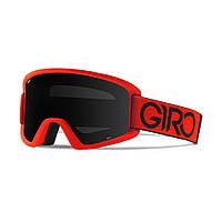 Горнолыжная маска Giro Semi красная/чёрная Dual, black Limo 15% + yellow 84% (GT)