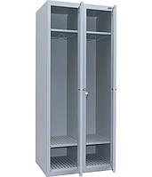 Шкаф одежный металлический ШОМ-400/2 Исполнение 10