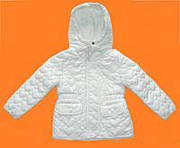Куртка стеганная 2-3-4-5-6-7-8-9 лет Сердце