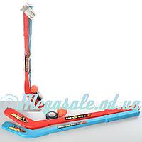 Детский хоккейный набор Ice Hockey 2913: 2 клюшки + шайба + мяч