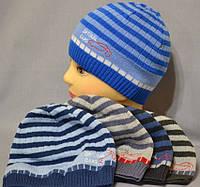 """Демисезонная шапка для мальчика """"Машинки"""""""