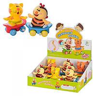 Детская заводная игрушка Животное на скейте (548)