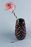 Керамическая ваза коричневая