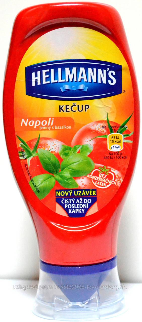 Кетчуп Hellmanns Napoli 0.450 гр