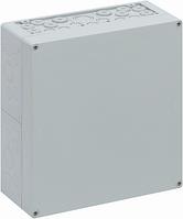 Корпус пластиковий «AKL 2-g» 300x300x132 мм сірий, ударостійкий полістирол