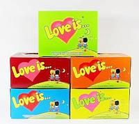 Жвачка love +is блок,магазин подарков