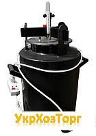 Автоклав Черный мини винт электрический (0,5л-12 шт, 1л-5 шт.)