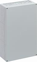 Корпус пластиковий «AKi 3-g» 300x450x132 мм сірий, полікарбонат