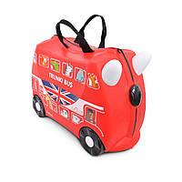 Детский чемоданчик на колесах TRUNKI BUS
