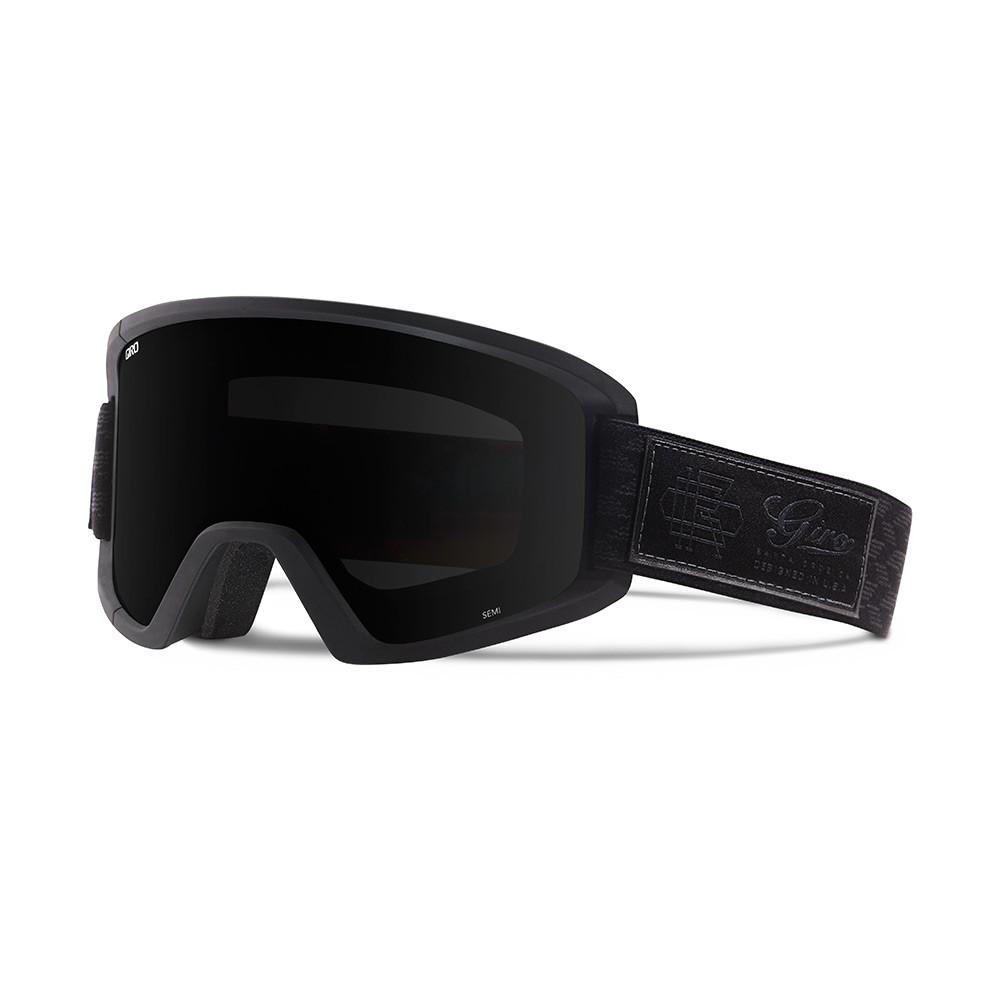 Горнолыжная маска Giro Semi чёрная Blazer, black Limo 15% + yellow 84% (GT)